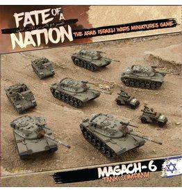 Battlefront Miniatures Magach-6 TANK COMPANY