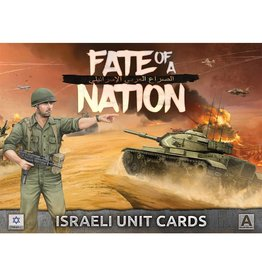 Battlefront Miniatures Israeli Unit Cards