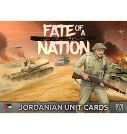 Battlefront Miniatures Jordanian Unit Cards
