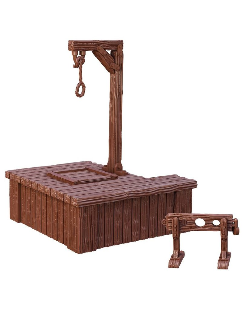 Mantic Games Terrain Crate: Gallows & Stocks (Retail Exclusive)