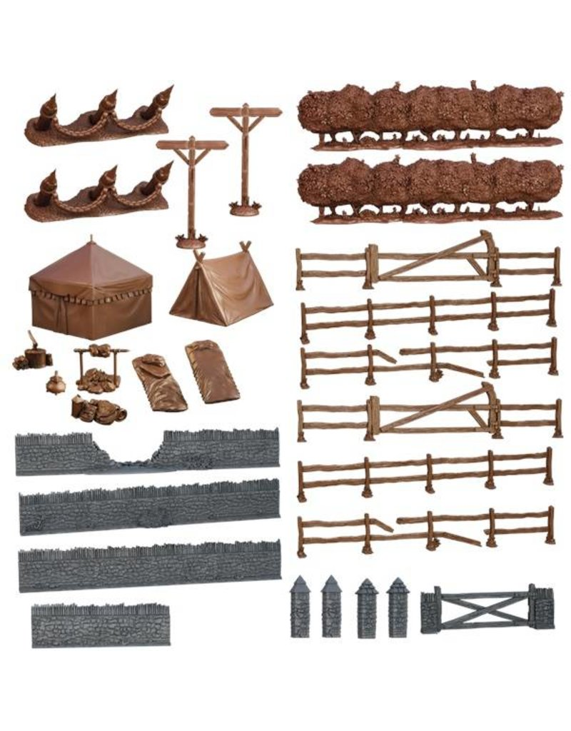 Mantic Games Terrain Crate: Battlefield