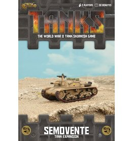 Battlefront Miniatures Semovente Tank Expansion