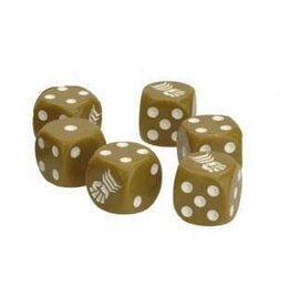 Battlefront Miniatures TANKS 8th Army Dice Set