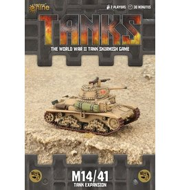 Battlefront Miniatures M14/41 Tank Expansion