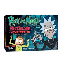 Cryptozoic Entertainment The Rickshank Rickdemption Deck Building Game