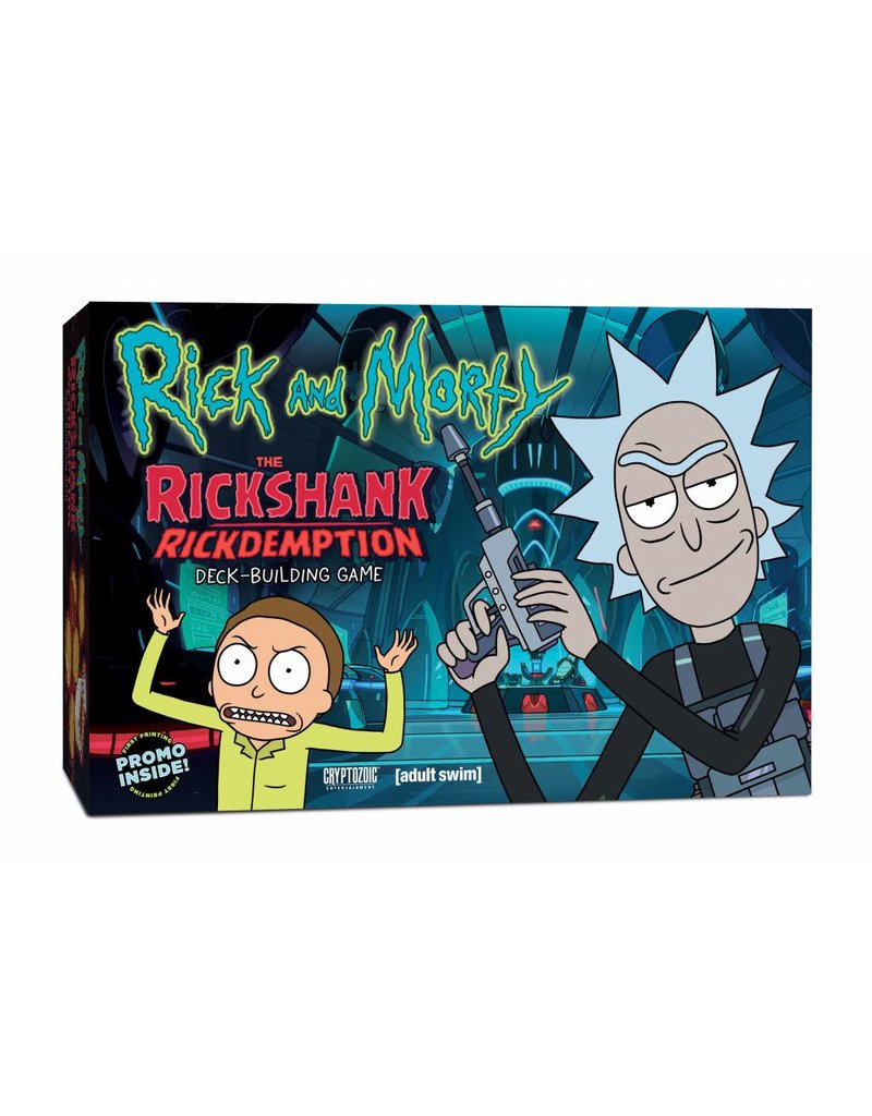 Cryptozoic Entertainment Rick and Morty The Rickshank Rickdemption Deck Building Game