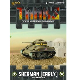 Battlefront Miniatures Sherman (early) Tank Expansion