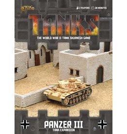 Battlefront Miniatures Panzer III Tank Expansion