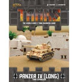 Battlefront Miniatures Panzer IV (Long) Tank Expansion