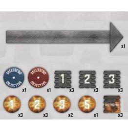 Battlefront Miniatures TANKS Token Set