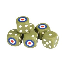 Battlefront Miniatures TANKS British Dice Set