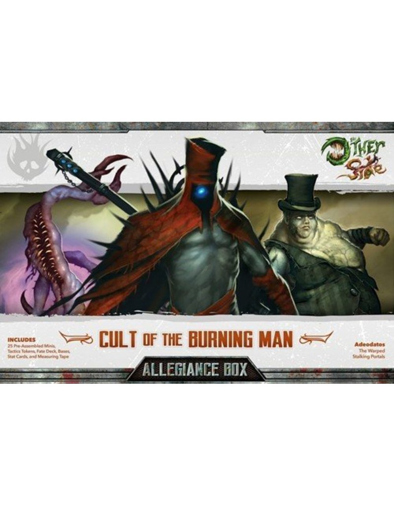 Wyrd Cult of the Burning Man Allegiance Box - Adeodatos