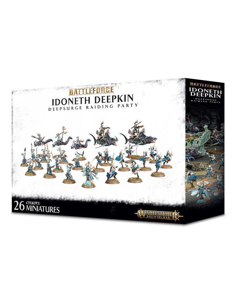 Games Workshop Idoneth Deepkin Deepsurge Raiding Party
