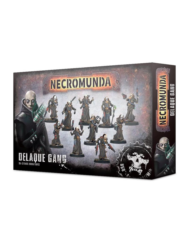 Games Workshop Necromunda Delaque Gang
