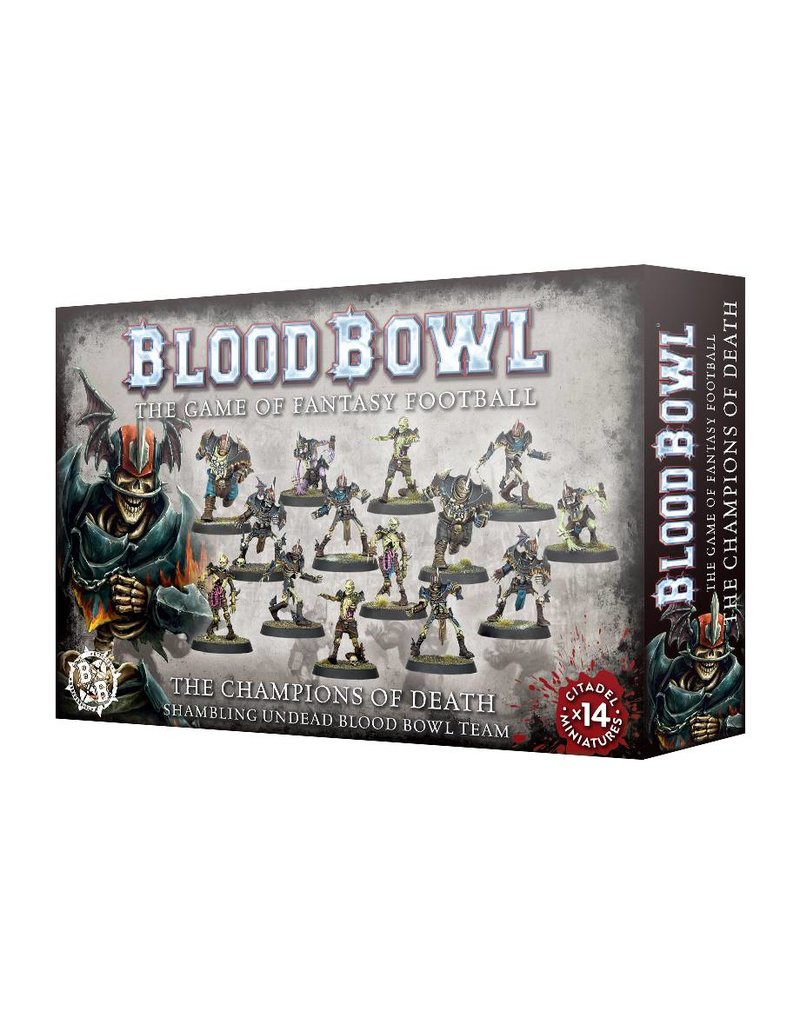 Games Workshop Blood Bowl: Champions Of Death Team