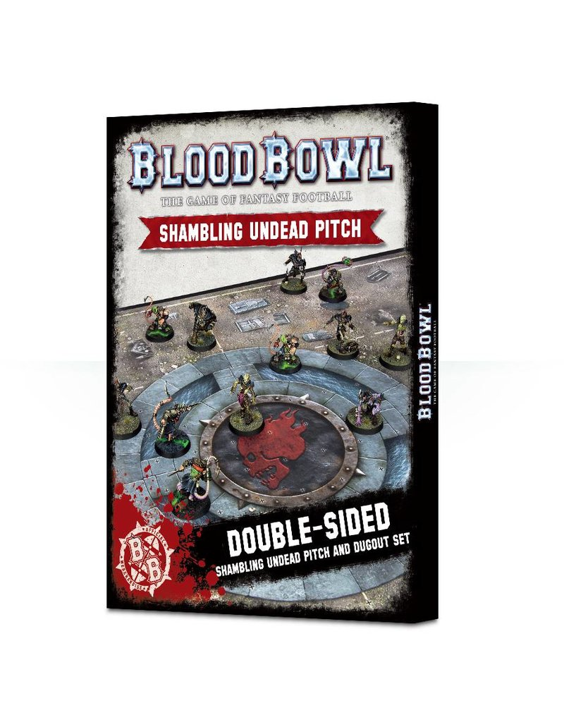 Games Workshop Blood Bowl: Undead Pitch & Dugouts