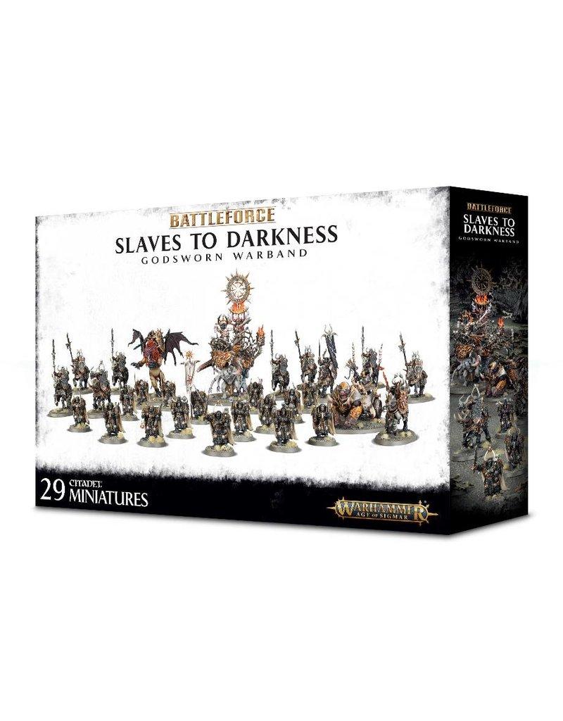 Games Workshop Slaves To Darkness Godsworn Warband