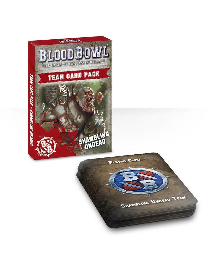Games Workshop Shambling Undead Card Pack (EN)