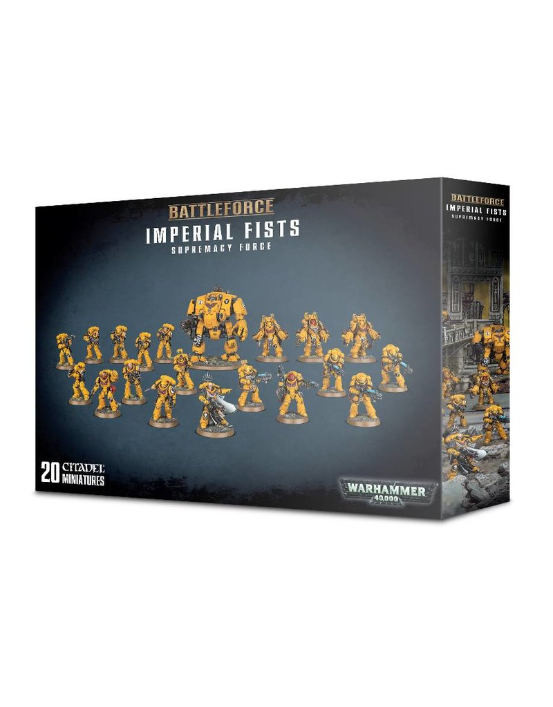 Games Workshop Space Marine Imperial Fists Supremacy Force