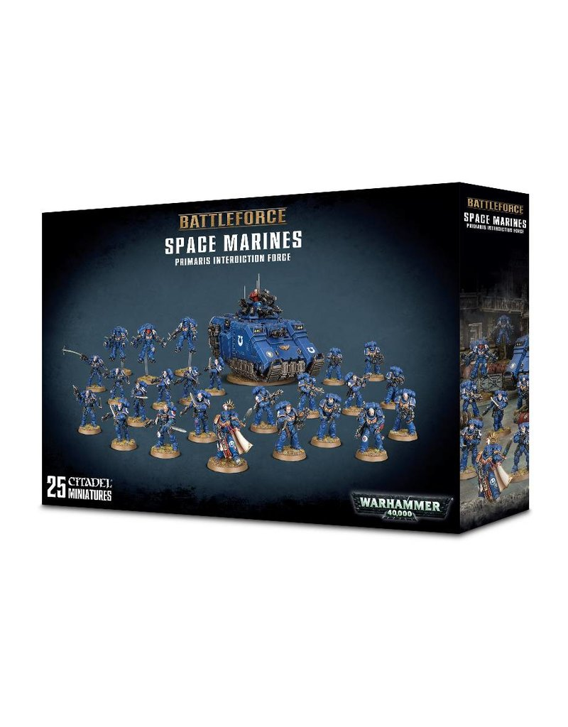 Games Workshop Space Marine Primaris Interdiction Force
