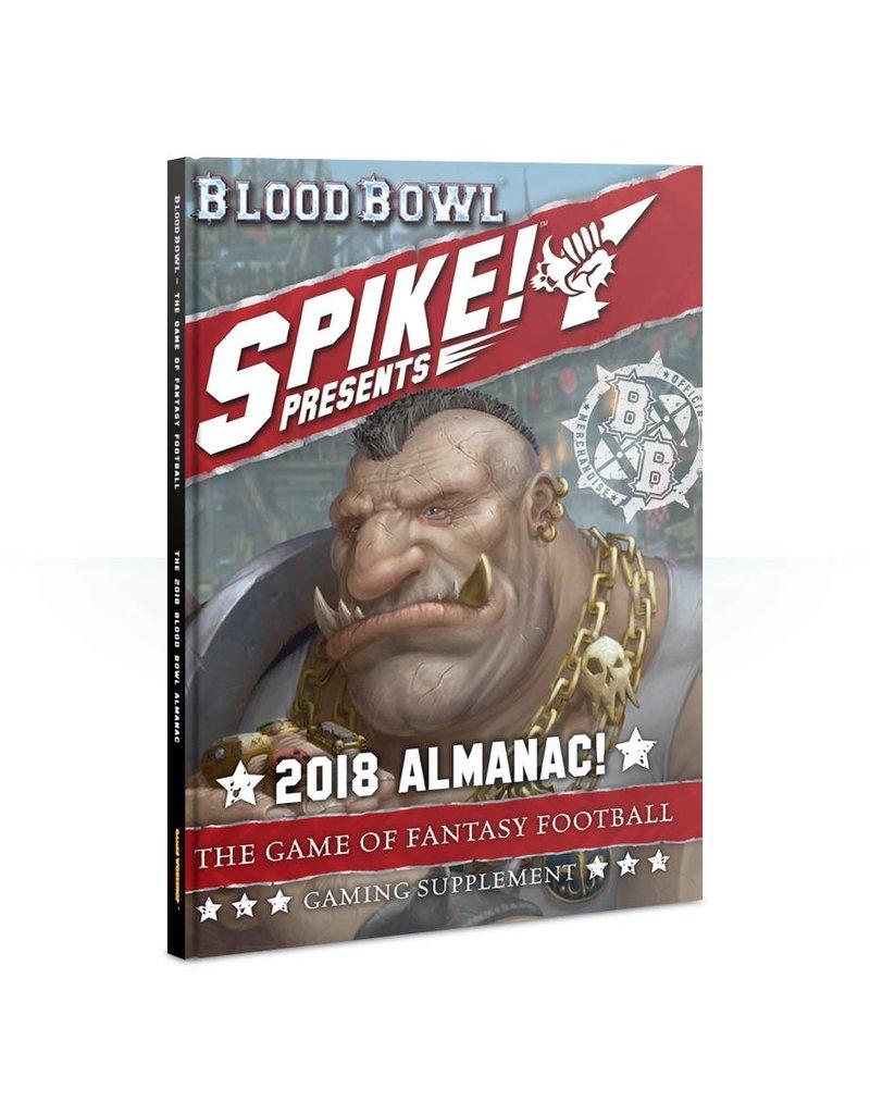 Games Workshop Blood Bowl Almanac 2018 (EN)