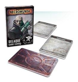 Games Workshop Delaque Gang Cards (EN)