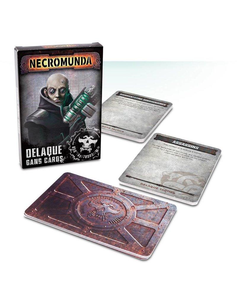 Games Workshop Necromunda: Delaque Gang Cards (EN)