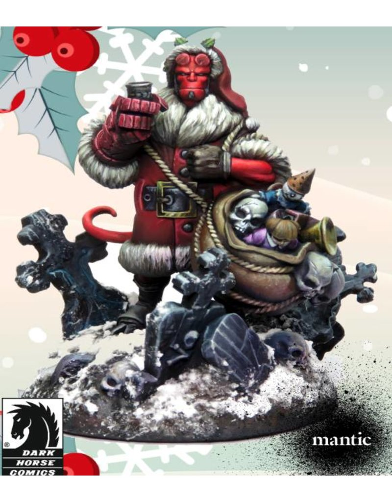 Mantic Games Hellboy Christmas Special Model 2018