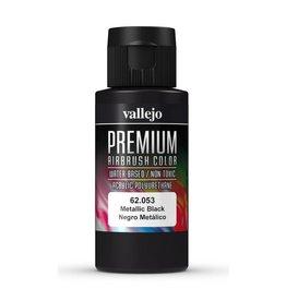Vallejo Metallic Black 60ml