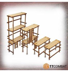 TT COMBAT Wood Scaffolding