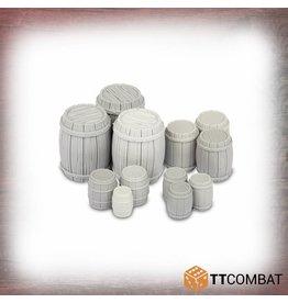 TT COMBAT Wooden Barrels