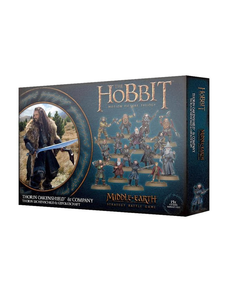 Games Workshop The Hobbit: Thorin Oakenshield And Company
