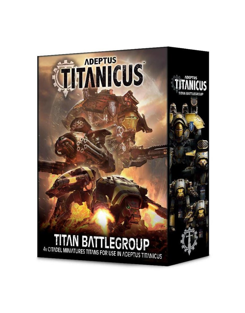 Games Workshop Adeptus Titanicus Titan Battlegroup