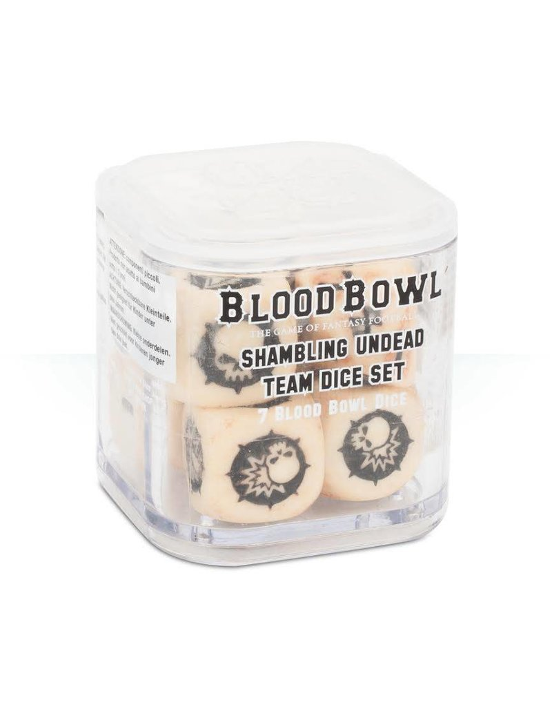 Games Workshop Blood Bowl: Undead Team Dice Set