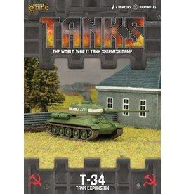 Battlefront Miniatures T-34 Tank Expansion
