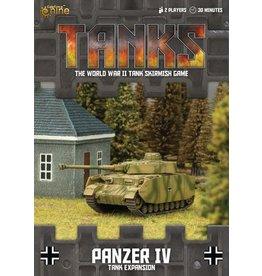 Battlefront Miniatures Panzer IV Tank Expansion