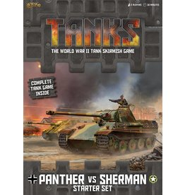 Battlefront Miniatures Panther vs Sherman Starter Set