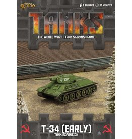 Battlefront Miniatures T-34 (Early) Tank Expansion
