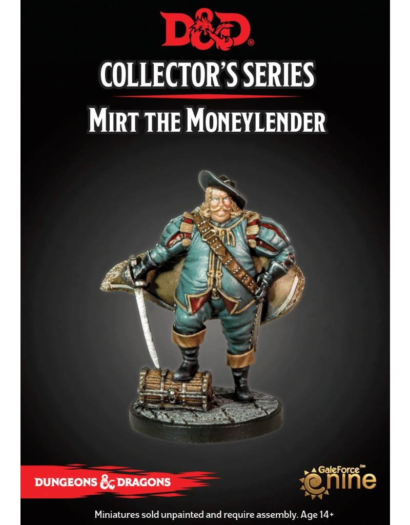 Gale Force 9 D&D Collector's Series: Mirt The Moneylender