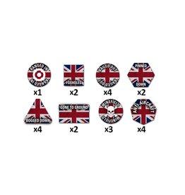 Battlefront Miniatures British Token Set