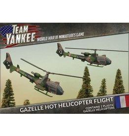 Battlefront Miniatures Gazelle HOT Helicopter Flight