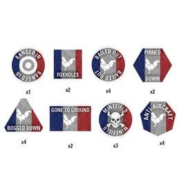 Battlefront Miniatures French Token Set