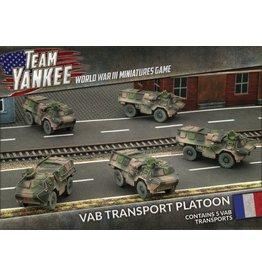 Battlefront Miniatures VAB Transport Platoon