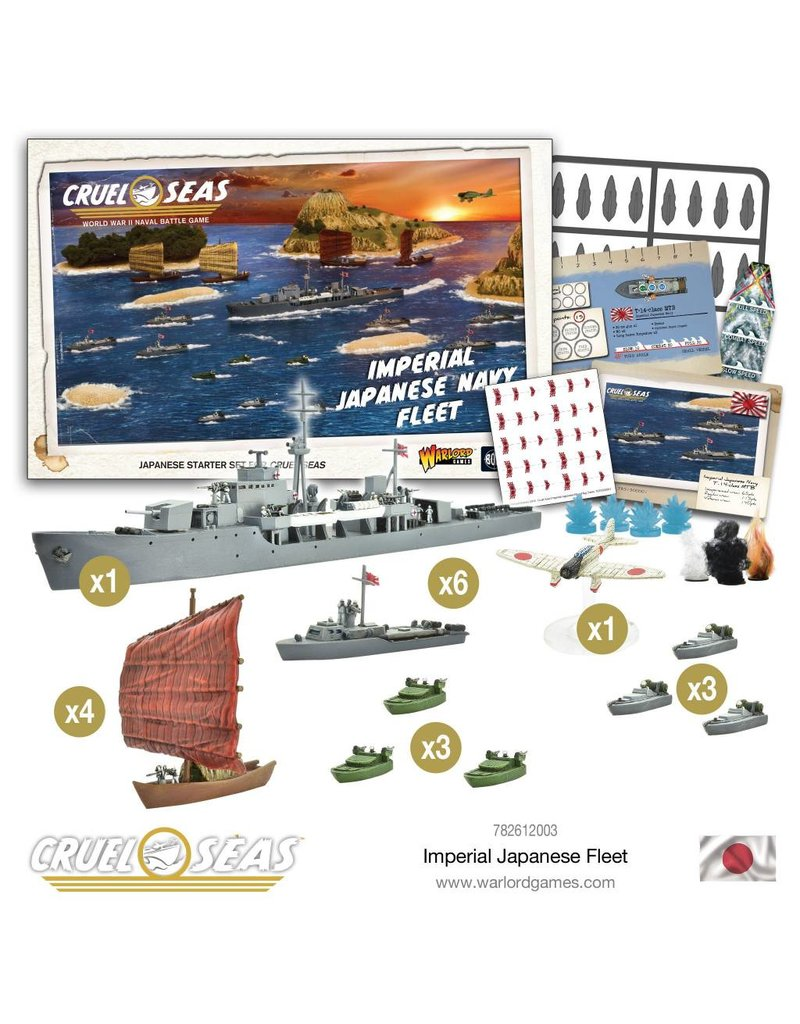 Warlord Games Cruel Seas: Imperial Japanese Navy Fleet