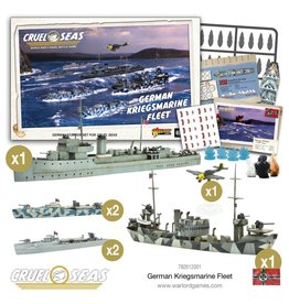 Warlord Games German Kriegsmarine Fleet