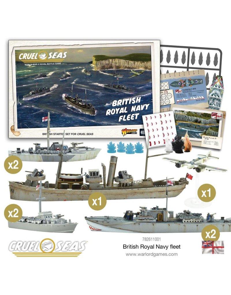 Warlord Games Cruel Seas: British Royal Naval Fleet
