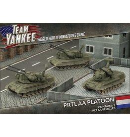 Battlefront Miniatures Dutch PRTL AA Platoon