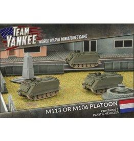 Battlefront Miniatures Dutch M113 / M106 Platoon