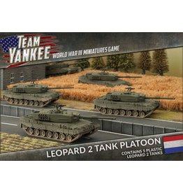 Battlefront Miniatures Dutch Leopard 2 Tank Platoon