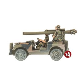 Battlefront Miniatures Anti-tank Land Rover Section